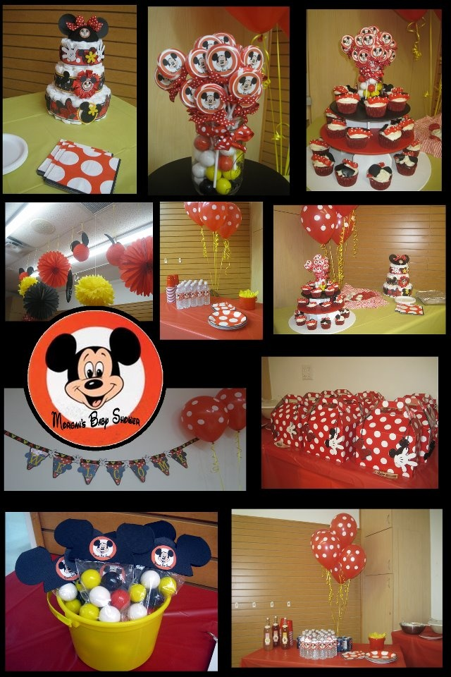 Mickey Baby Shower