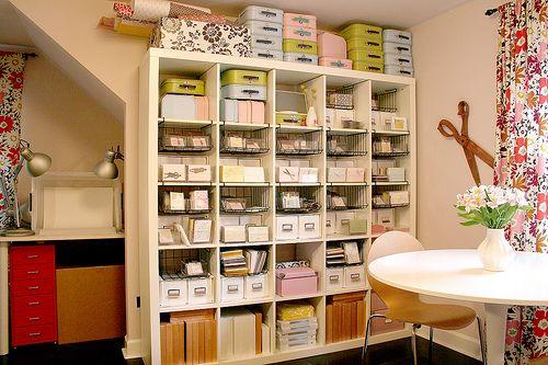 Craft storage ideas - here ya go sara and kaitlen