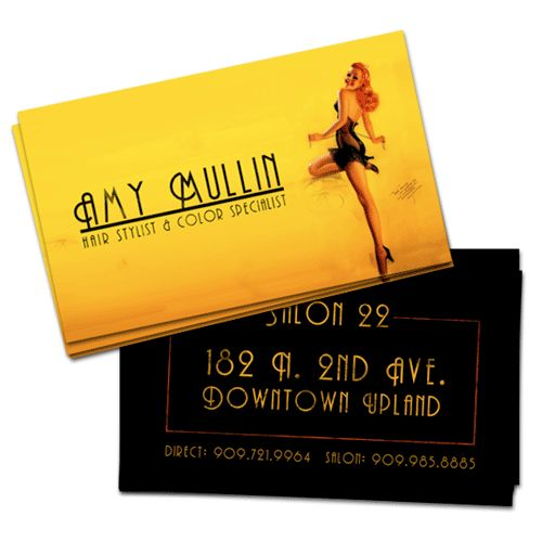 83 best business cards images on pinterest creative business cards professional examples of yellow colored business cards designmodo reheart Gallery