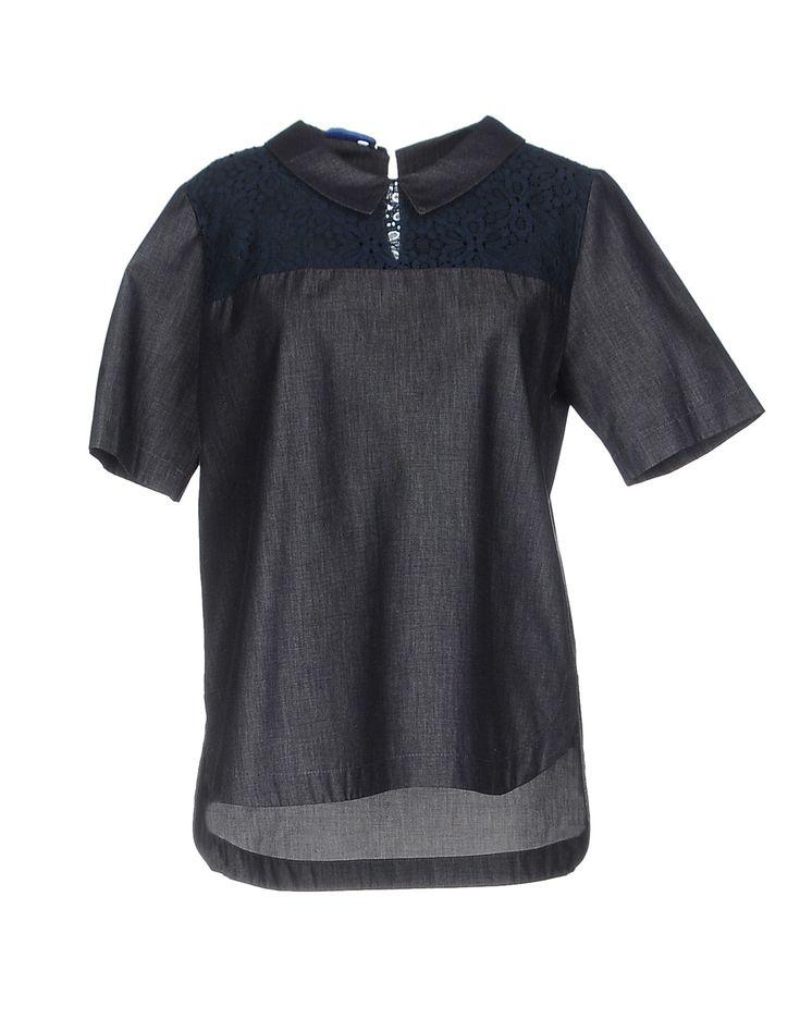 BLUE LES COPAINS Джинсовая рубашка