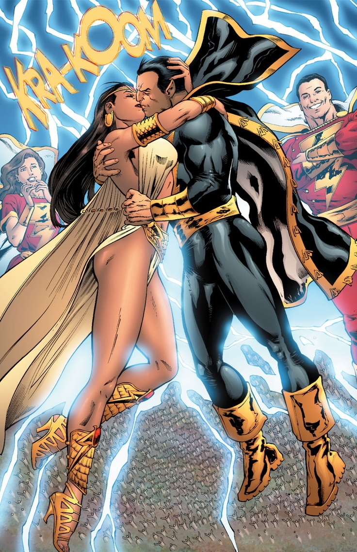 Black Adam And Isis