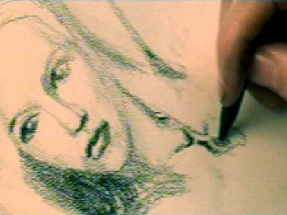 Titanic Drawing Scene – whose hands are those drawing the picture of Rose? James Cameron! He drew her and all of the sketches in Jack's book.