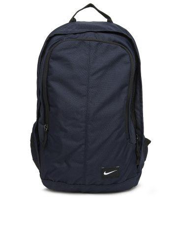 Nike Men Navy Printed Backpack