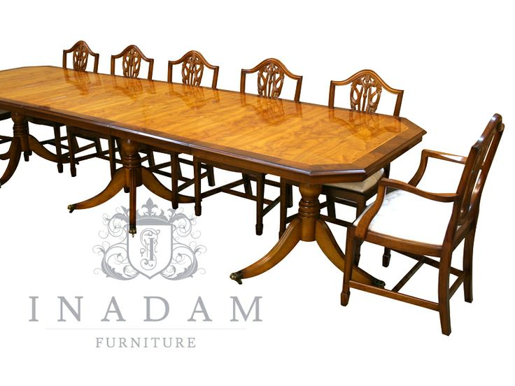 Large 11 6 Reproduction dining table available from www inadamfurniture co  27 best Inadam Furniture images on Pinterest Ranges Desks andReproduction Mahogany Dining Room Furniture  Full Size of Chair  . Reproduction Dining Tables. Home Design Ideas