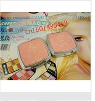 Arte 4PCS de bicarbonato de rubor en polvo de color de sombra de ojos 4 del envío libre de doble traje China Airlines