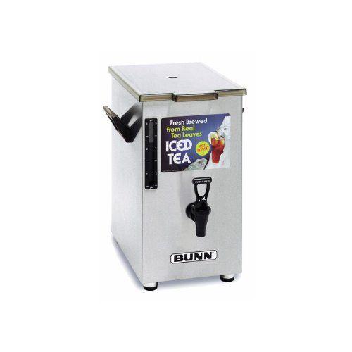 Bunn 03250.00** Iced Tea Dispenser 3 gal Square Style by Bunn. $114.38