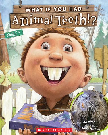 Oceans of First Grade Fun: What If You Had Animal Teeth? Activity  to go with the book.