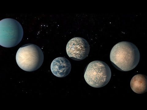 Hubble Observes Atmospheres of TRAPPIST-1 Exoplanets in the Habitable Zone - NASA Goddard - @YouTube