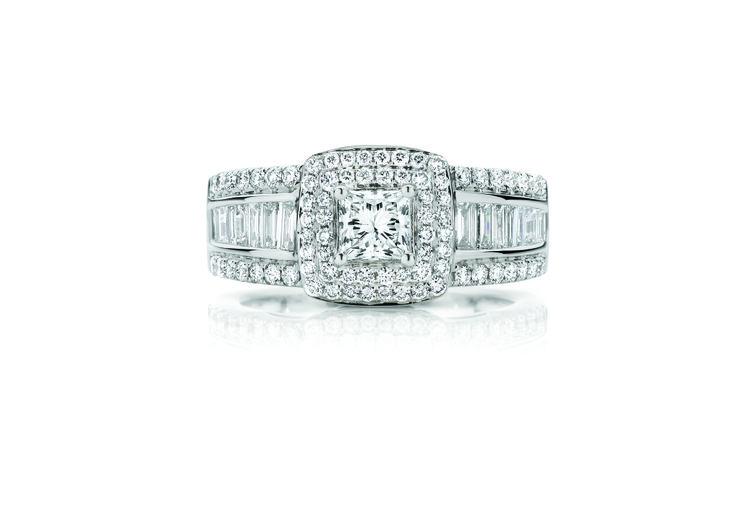 18ct White Gold 1.50ct Diamond Ring $6999