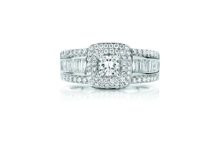 18ct White Gold 1.50ct Diamond Ring $6999