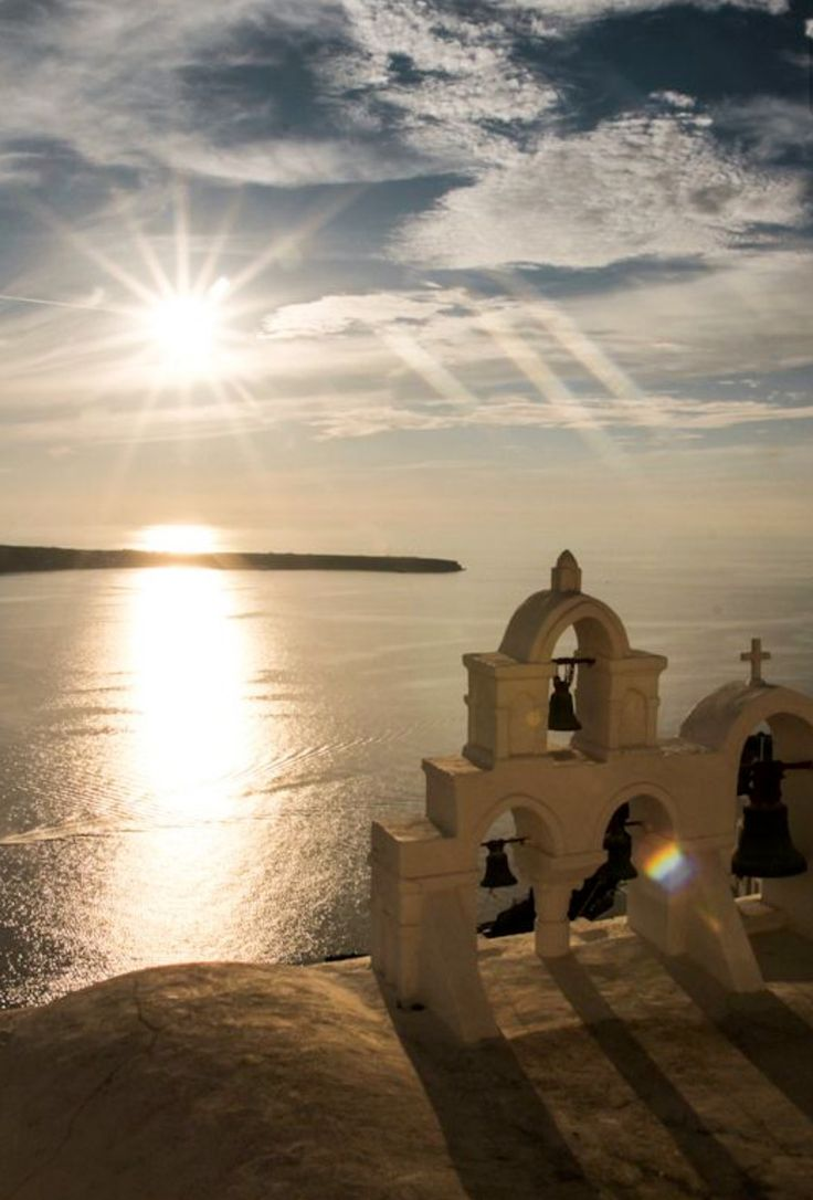 Sunset time in Oia village, Santorini island, Greece. - Selected by www.oiamansion in Santorini.
