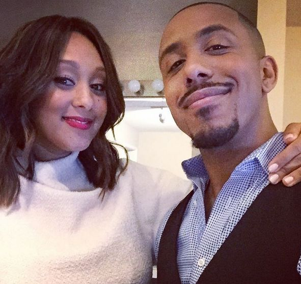 Tamera Mowry & Marques Houston