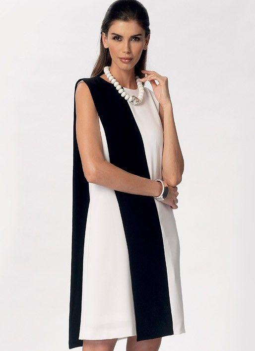 Vogue - 9185 top, jurk en broek | Naaipatronen.nl | zelfmaakmode patroon online