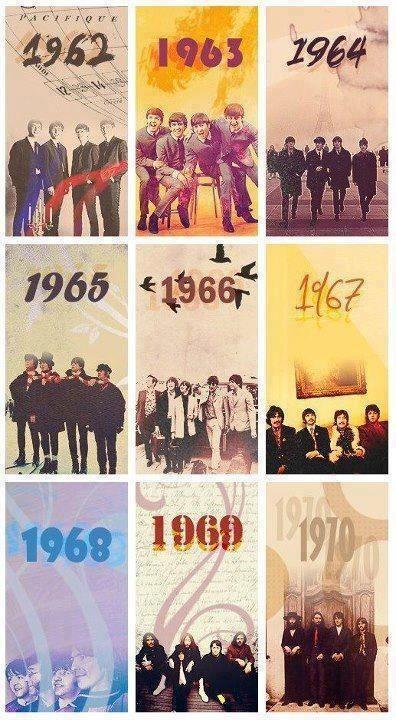 Década The Beatles a través de los años