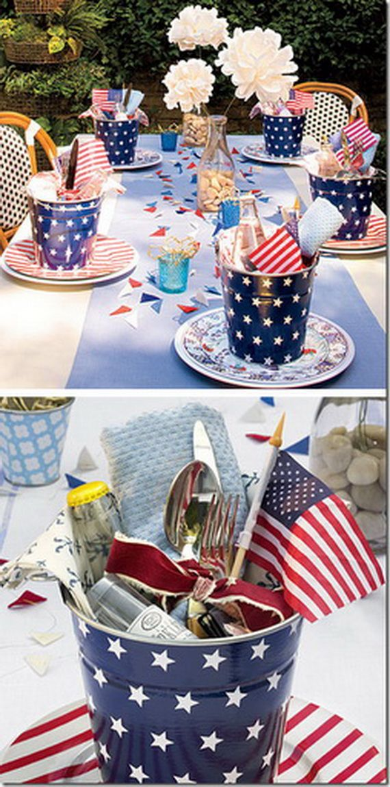 fourth of july home decor ideas