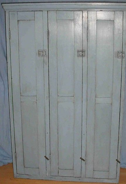 Vintage Chic Just Got A Wood Locker In Just Like This