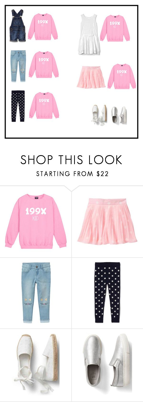 """kids"" by natyapshopper on Polyvore featuring moda y Gap"