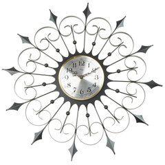 Welby Iron Sunburst Clock, circa 1950