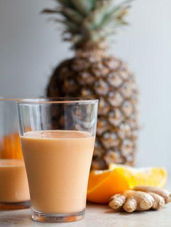 طريقة عمل عصير الفواكة الأستوائية والزبادي الطهي والمطبخ Pinterest