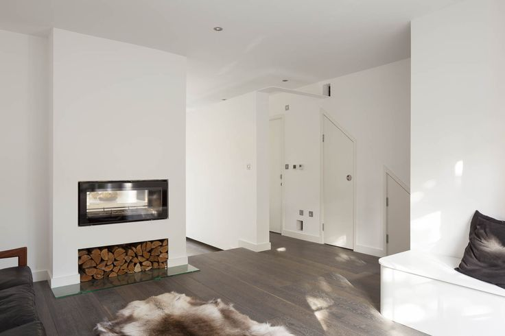 Annis Road. Double fronted fire place open to the kitchen at the back