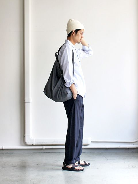 Yaeca 2way Set Up Pants -Wide Tapered