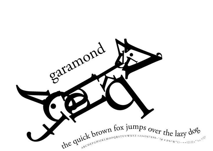 15 best Claude Garamond font samples images on Pinterest