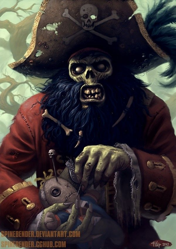 Monkey Island: LeChuck by Filip Acovic