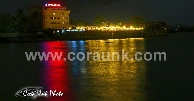 Nightlife in Cotonou, Benin, Africa