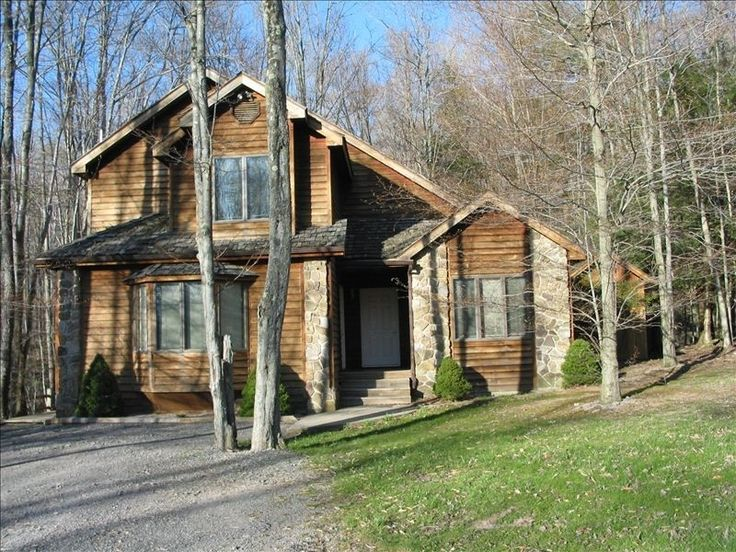 $1475 3 nights, across 2 streets.  Chalet vacation rental in Canaan Valley from VRBO.com! #vacation #rental #travel #vrbo