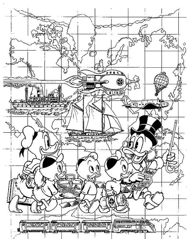 Free Printable Ducktales Coloring Pages Disney Coloring Pages Christmas Coloring Pages Cartoon Coloring Pages