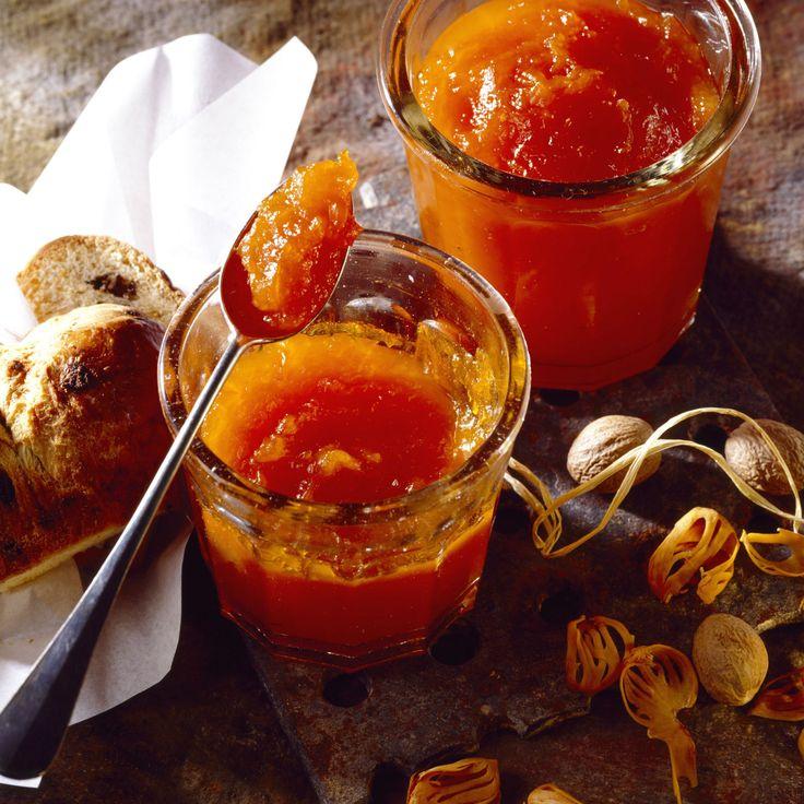 Découvrez la recette Confiture de citrouille sur cuisineactuelle.fr.
