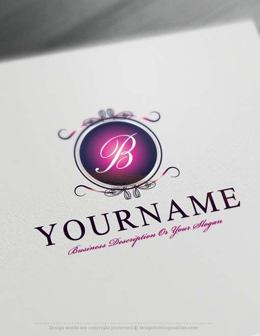 View All Alphabet Logos Design FreeLuxury Alphabet Logo Template Ready madeOnline Initials logo template decorated with Luxury Mirror frame and your Alphabet. Alphabetlogos excellent forconsulting, management ,Business Consulting, lawyer or law firm, notary, accountant etc. Mirror logos also excellent asBeauty & Fashion, spa logo design. How to createyour own Alphabetlogo online with the best
