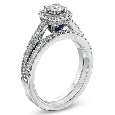 17 best images about i do on halo white gold