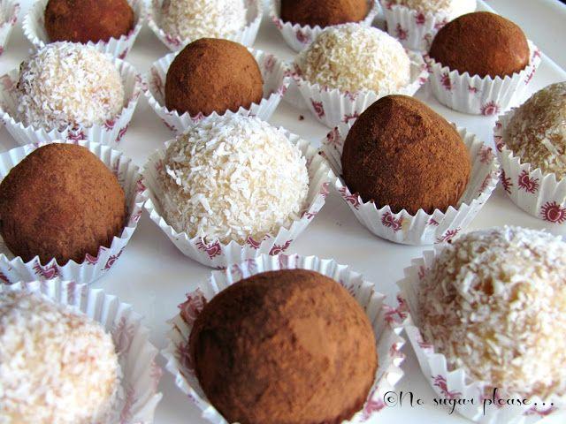 No sugar please...: Tartufini alla ricotta