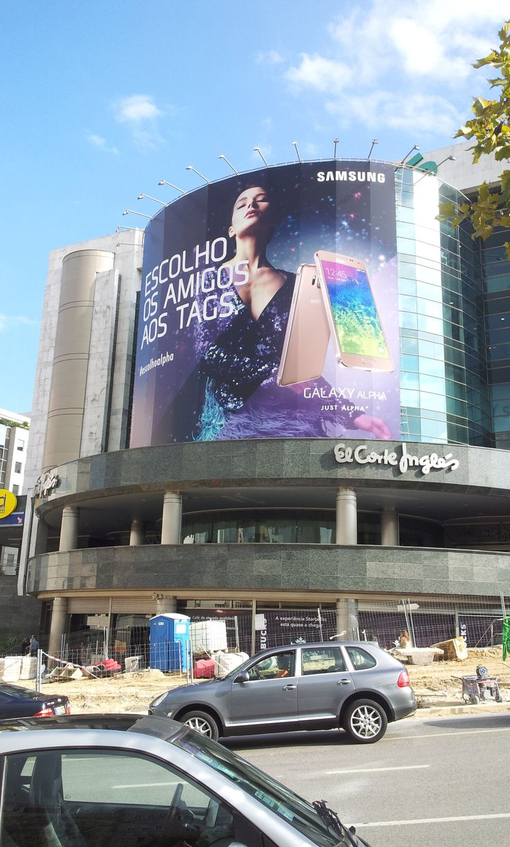 Samsung advertisement El Corte Inglés - Lisboa