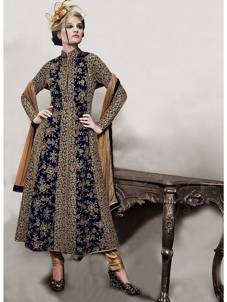 28 best Jackt Style Suit images on Pinterest | Anarkali ...