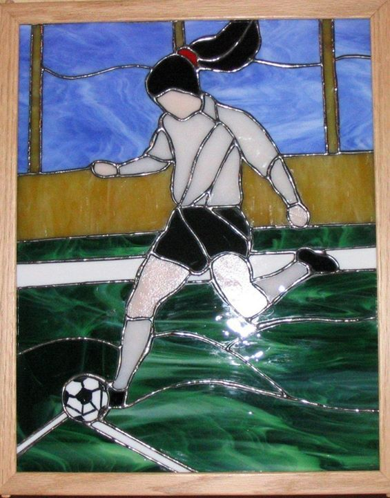 257 Best Sports Stained Glass Images On Pinterest