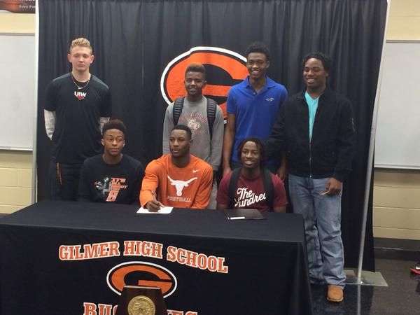 LIST ETX recruits sign letters of intent on National Signing Day - letters of intent