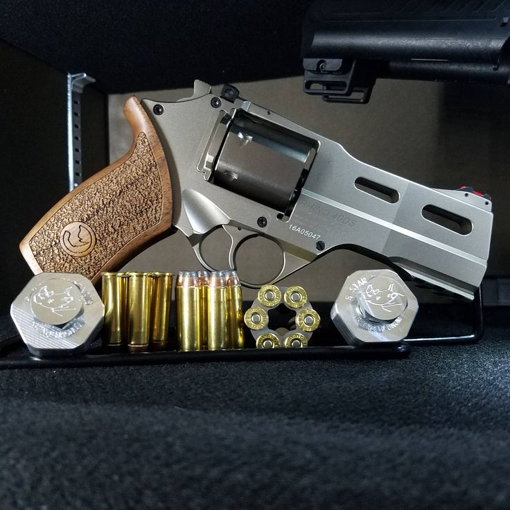 Chiappa White Rhino .357 Magnum + 5 Star Firearms custom speed loaders xpost form r/guns