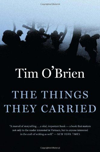 """The Things They Carried by Tim O'Brien (adult - or high school - book)  Sometimes people complain that some (most) of the book is """"made up"""" - but since it is found in the Fiction section, I do not understand that... Take it for what it is - semi-related stories about Vietnam, written by someone who did serve in Vietnam..."""
