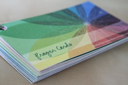 Printable Prayer Cards // Paul Miller's book, A Praying Life, is a must-read.