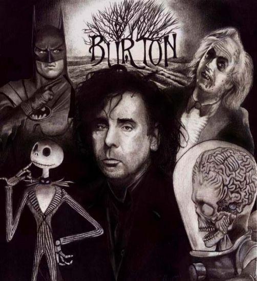 Tim Burton.. My favorite
