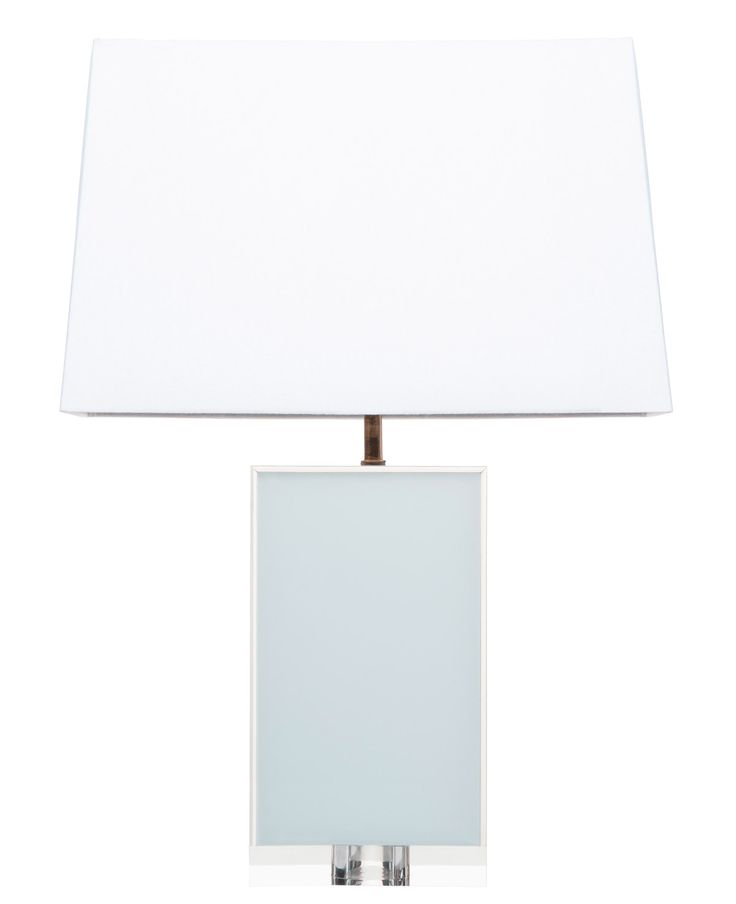 Add A Little Retro Modern Style To Any Room With This Acrylic Lamp. Lamp
