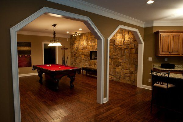 images of basements with game rooms | Basement game room