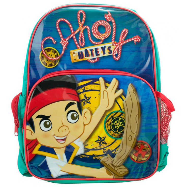 Jake and the Never Land Pirates Backpack from Funstra Toys