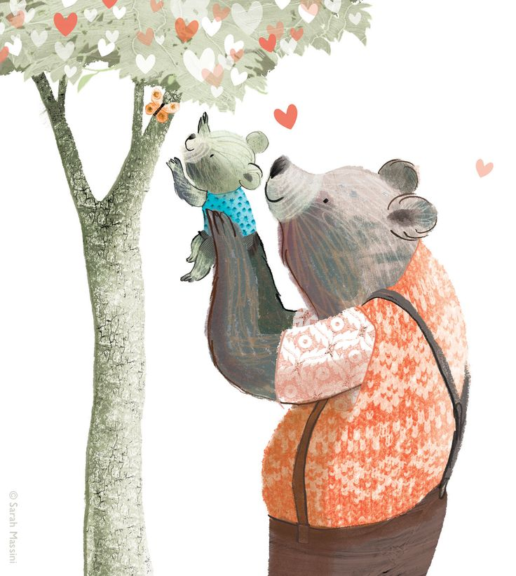 Laatuaikaa perheen kanssa! Omenapuita ei kannella ole toistaiseksi kasvanut. Kiss It Better www.sarahmassini.com