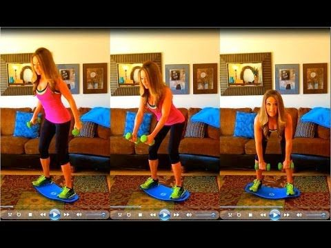 Shark Tank Products   Simply Fit Board - Exercise and Balance Board with a Twist - Shark Tank Products
