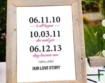 10th Wedding Anniversary Gifts For Husband India : 17 mejores ideas sobre Fechas Importantes Enmarcadas en Pinterest