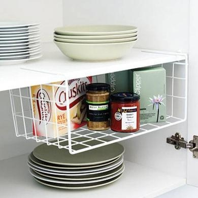Howards Storage World | Undershelf Basket- Love this would be so awsome for my spices :)