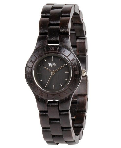 WeWood watch MOON BLACK